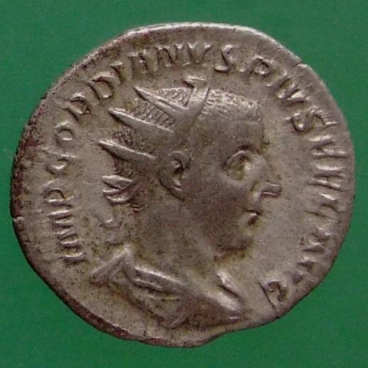 Gordianus III. (238-244); Rom; 240; Antoninian; RIC 95 von Gordianus III.