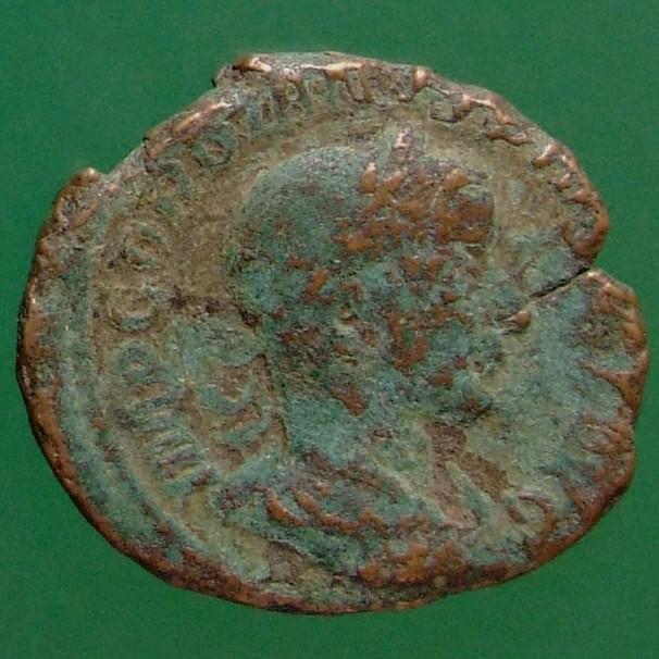 Gordianus III. (238-244); Rom; 240; As; RIC 300a von Gordianus III.