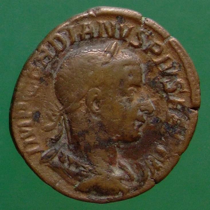 Gordianus III. (238-244); Rom; 242; Sesterz; RIC 303a von Gordianus III.
