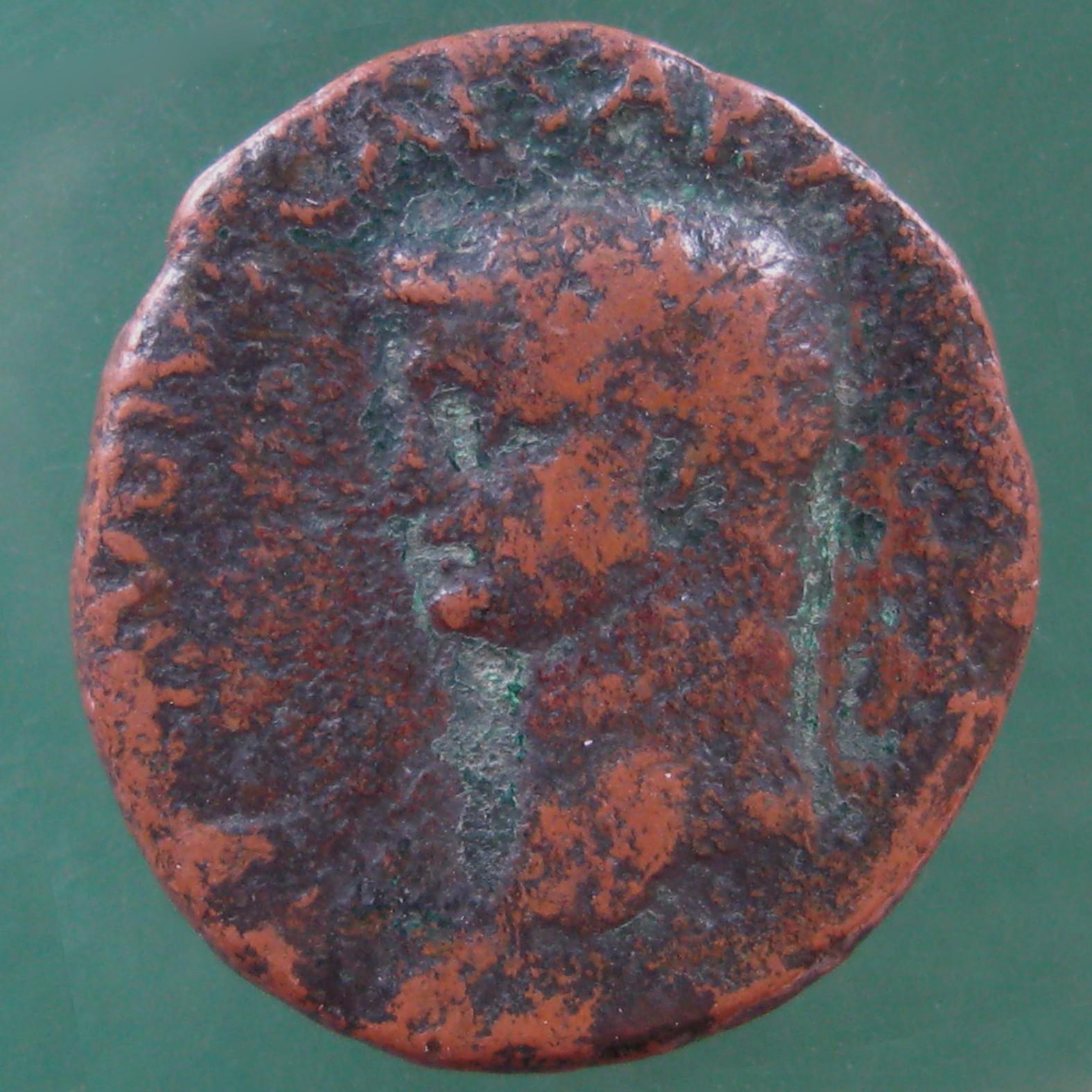 Achaia; Claudius I. (41-54); Patrae; 41 - 45; AE; SNG Cop 170 von Claudius I.