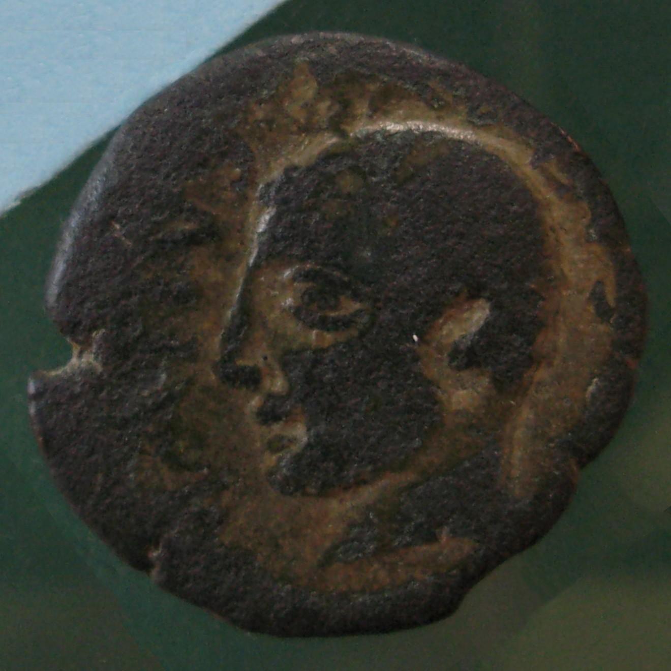 M. Atius Balbus; Sardinia; 38 v.Chr. - 31 v.Chr.; AE; SNG Cop 1112-1113