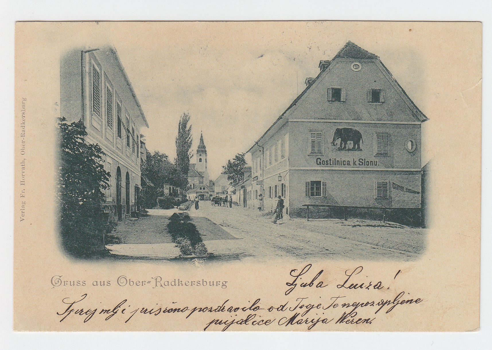 Gruss aus Ober=Radkersburg.