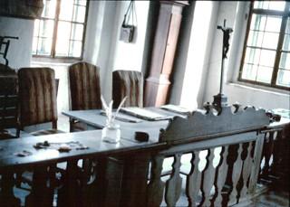 Gerichtsraum